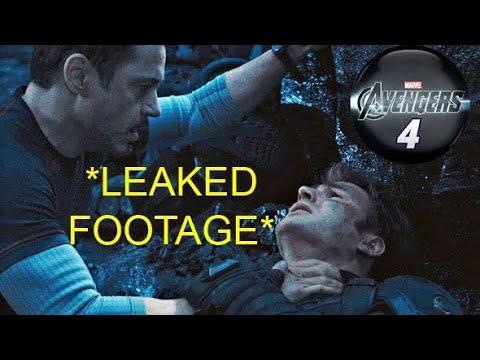 Avengers Endgame Leaked Footage!