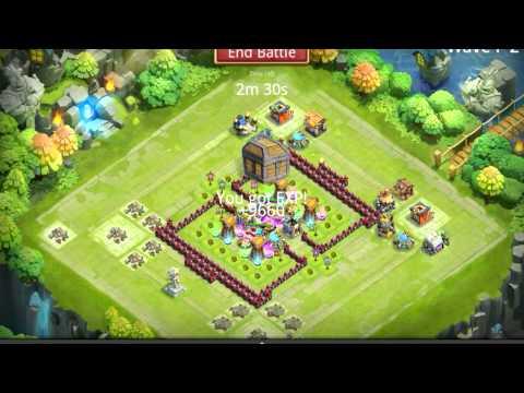 Castle Clash Townhall Level 13 Base