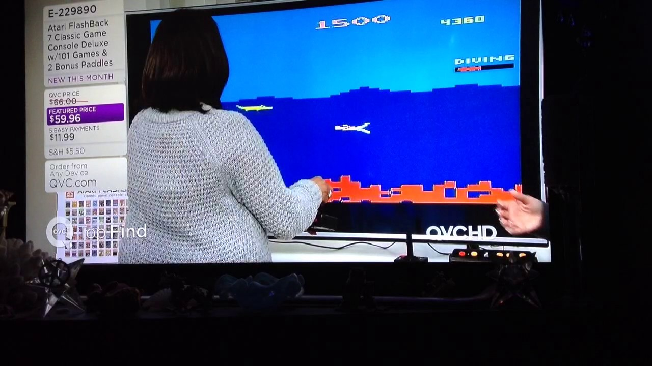 Atari Flashback 7 Classic Game Console With 101 Games Youtube