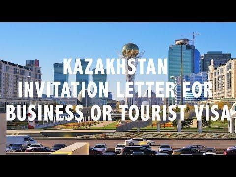 Kazakhstan Invitation Letter - Tourist or Business