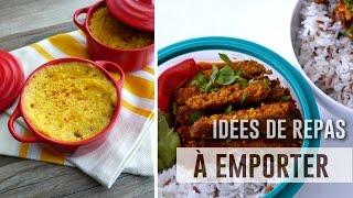 Idées de repas à emporter | Healthy & Végé