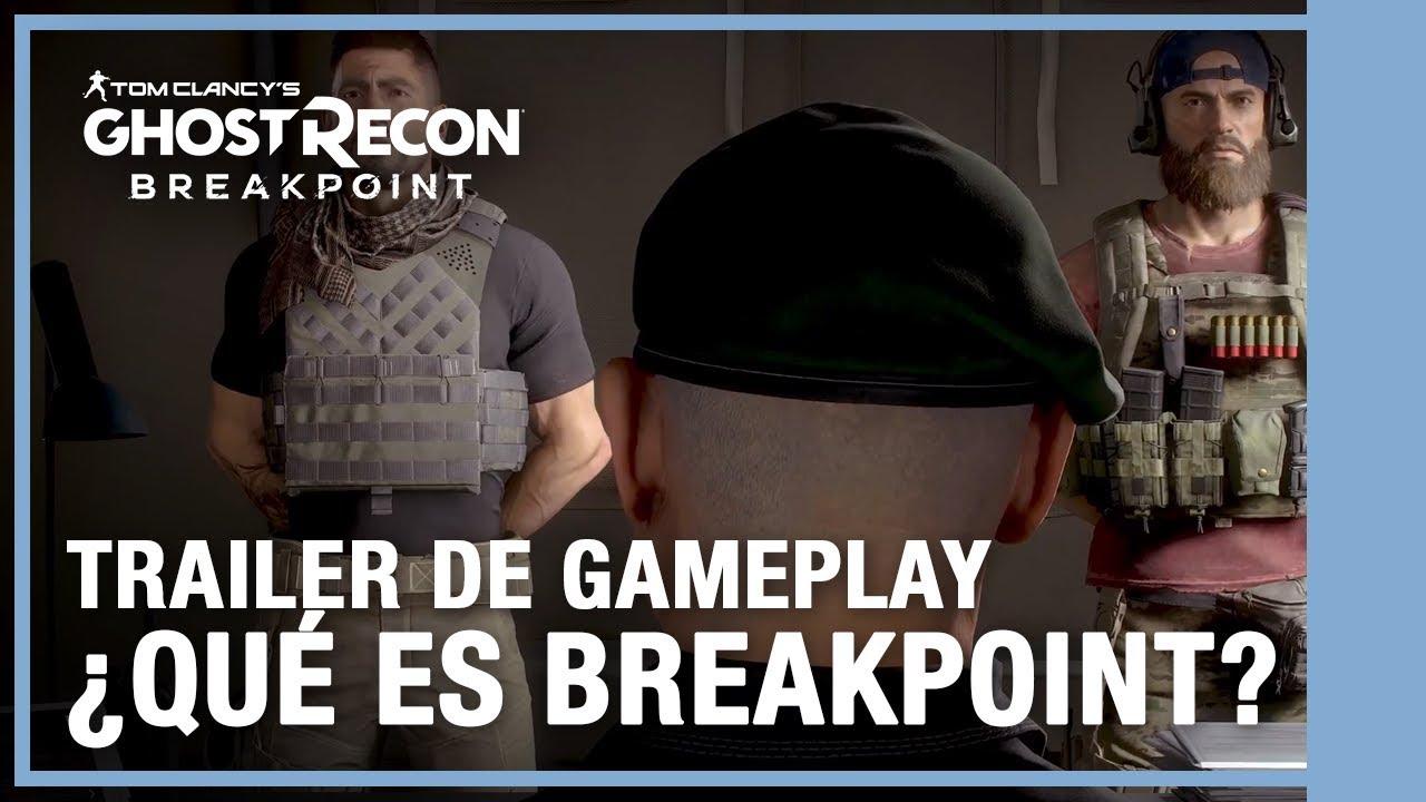 Tom Clancy's Ghost Recon Breakpoint: ¿Qué es Breakpoint? Tráiler de Gameplay