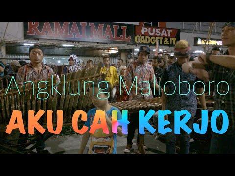 AKU CAH KERJO - Hiphop Dangdut - Angklung Rajawali Malioboro