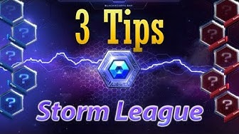 3 Tips before jumping into Storm league: Rank up quickly.