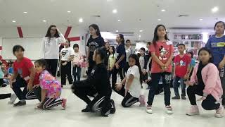 พี่เพลงเรียนเต้น cover Black Dress #CLC(กลุ่มอายุไม่เกิน14 ปี)