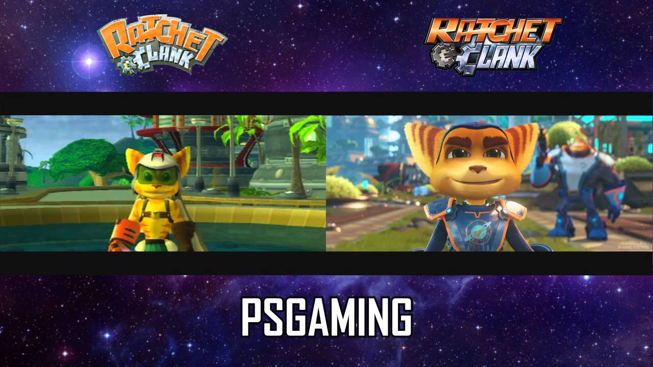 Ratchet & Clank Trailer | PS4 vs PS2 - YouTube