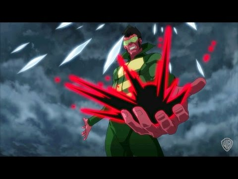 "Justice League vs. Teen Titans - ""The Hour of His Rising is at Hand"""