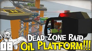 "GangZ Unturned Gameplay - ""DEAD ZONE RAID: OIL PLATFORM!!!"" - Unturned PvP Multiplayer"