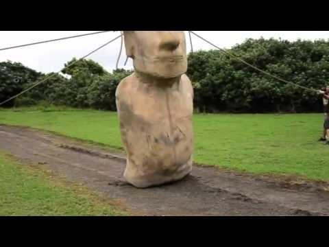Гигантские каменные статуи на острове Пасхи 13 фото