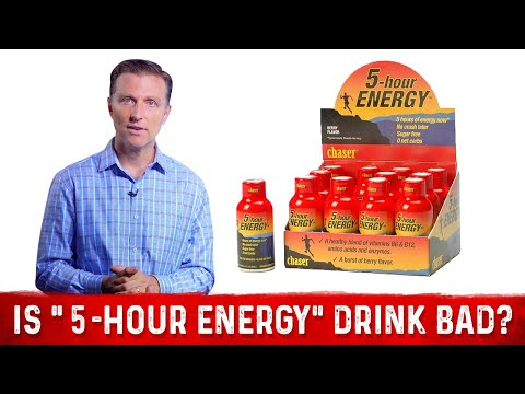 """Is """"5-Hour Energy"""" Drink Bad For You? – Dr.Berg's Review"""