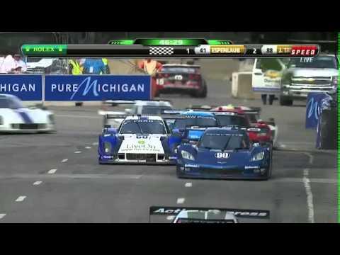 Chevrolet GRAND-AM Detroit 200 Race Highlights