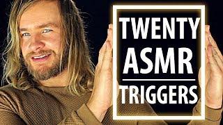 TWENTY TINGLY ASMR Triggers [20]