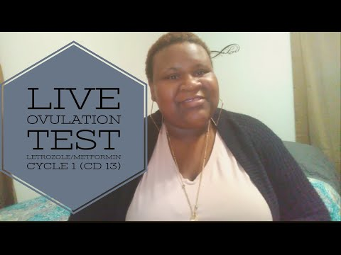 LIVE OVULATION TEST +Going Back To The ER!!!