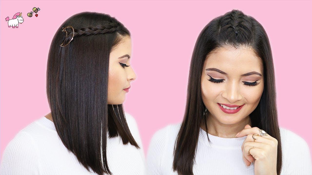 Peinados Fáciles Y Rapidos Para Cabello Corto Bessy Dressy