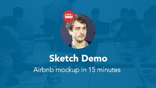 Gambar cover Airbnb mockup with Sketch