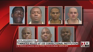7 inmates killed at Lee Correctional Institution