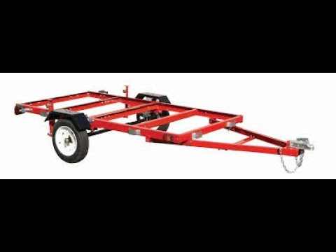 Harbor Freight Folding Trailer Review