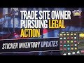 CSGO Trade Site Owner to Be Unbanned, Sticker Market Changes, SK VP Football Match, Dev1ce and PGL