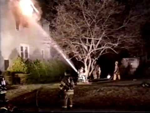Rutherford NJ Fire Dept 14 Elm St Fire in a Private Dwelling Nov 23rd 2001