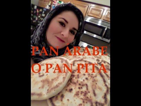 Cocina Pan Árabe En Tu Casa Sin Usar Horno, PASO A PASO SUPER FACIL!