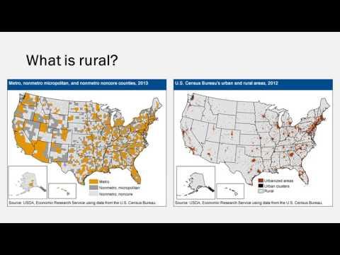 Economic Disadvantage in Rural America