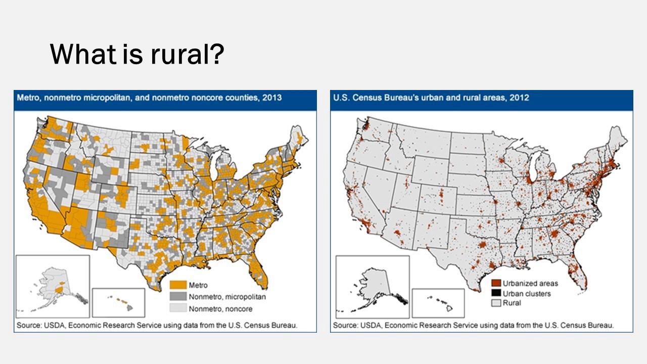 Economic Disadvantage In Rural America Youtube