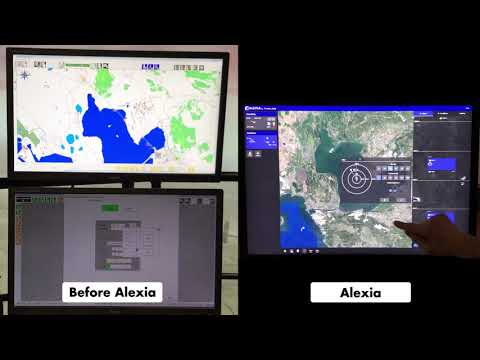 Alexia instructor interface for the Really H helicopter simulator - Thales
