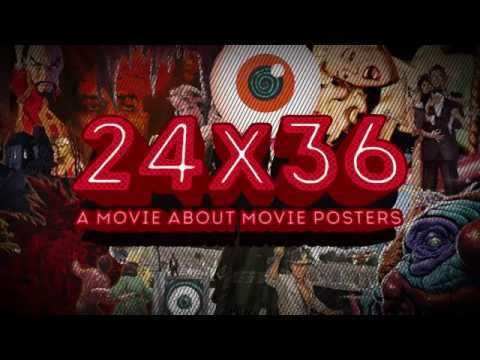 24x36: A Movie About Movie Posters - Teaser Trailer