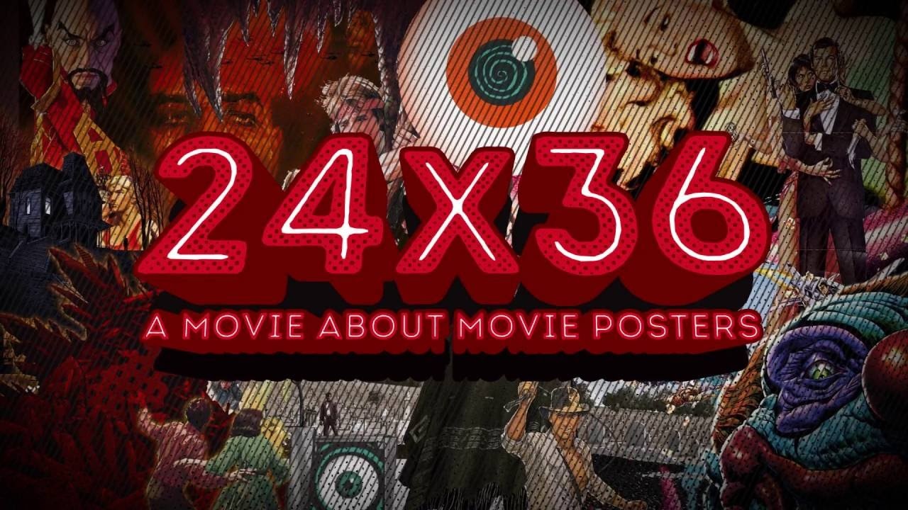 24x36 a movie about movie posters teaser trailer youtube