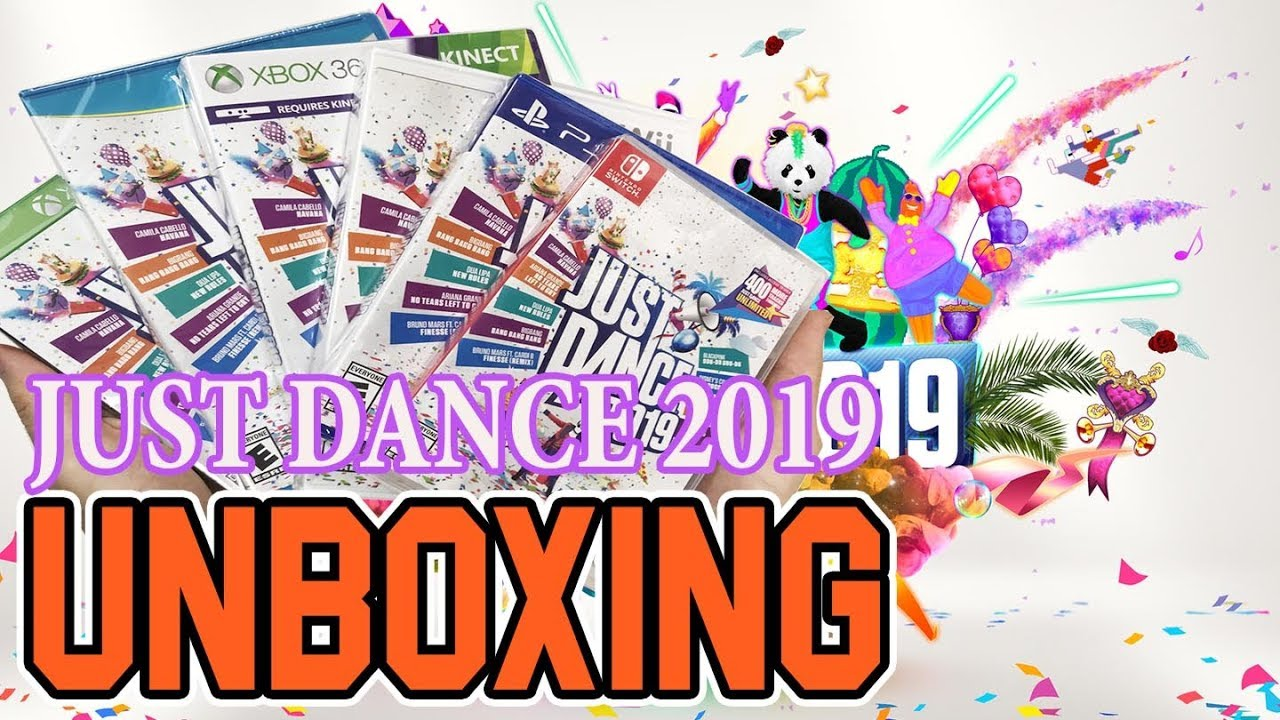 Just Dance 2019 Switch Wii Wii U Ps4 Xbox One Xbox 360 Unboxing