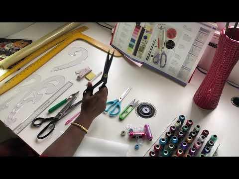 தையலுக்கு தேவையான கருவிகள் || Basic Sewing Tools In Tamil
