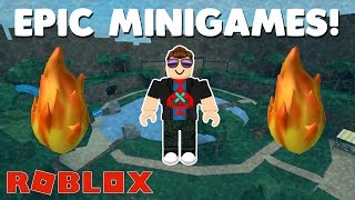HOW TO WIN MINIGAMES! | NEW UPDATE Roblox Epic Minigames Gameplay | Epic Minigames Let's Play 2017!