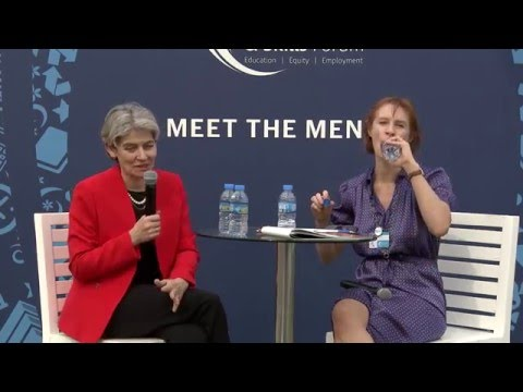 GESF2016: Meet the Mentor - Ms Irina Bokova