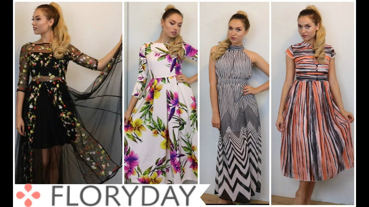 Floryday Dress Fashion Haul + Try On - YouTube 9023140519e