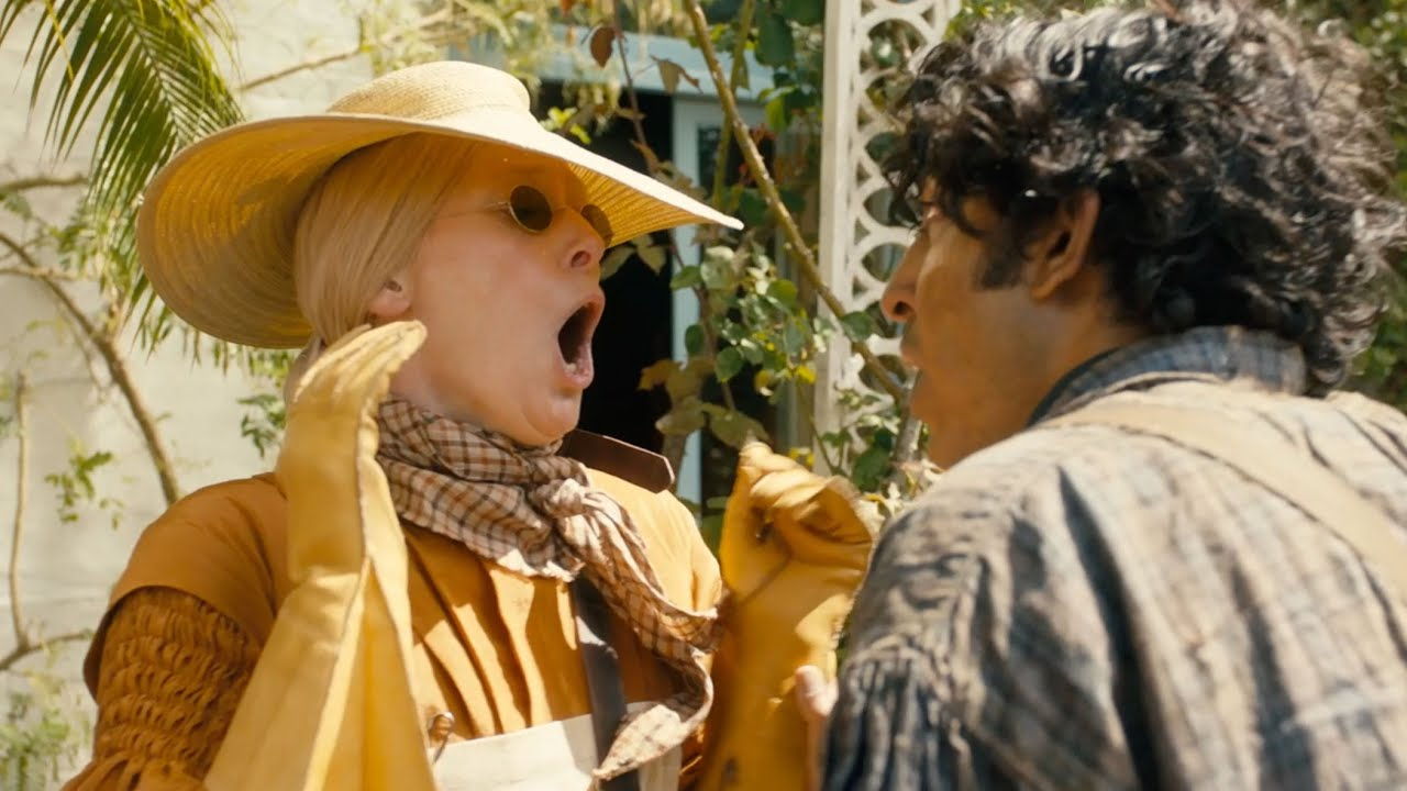 """The Personal History Of David Copperfield' Exclusive: Tilda Swinton  Enforces Her """"Donkey-Free Zone"""" In New Clip"""