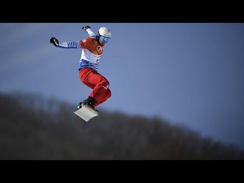 JO-2018 : Pierre Vaultier conserve sa médaille d'or en snowboardcross