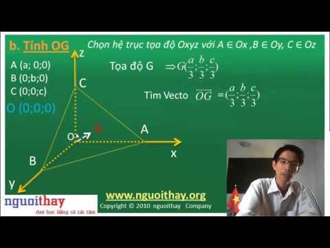 Tọa độ hóa hình học không gian [2]