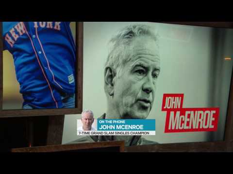 "John McEnroe on T&S: ""I still see Milos sometimes"""