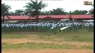 Batch A 2015 corps members end orientation course