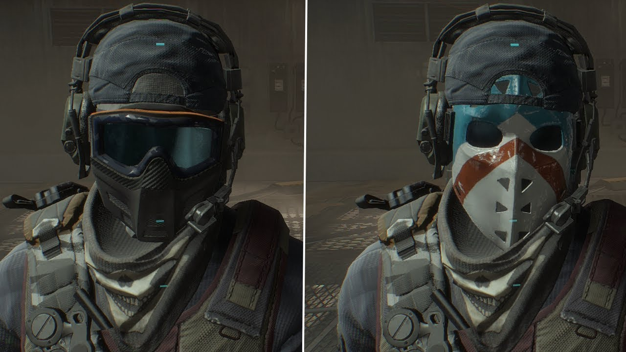 the division how to get masks 1.8