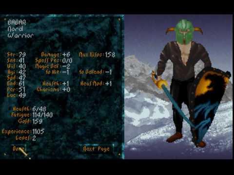 Blind Playthrough Of The Elder Scrolls: Arena's First Dungeon - PART 1!!!!!!!!!!!!!!!!!!!!!!!!!!!!