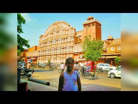 Pink City Jaipur:Hawa Mahal & Johri Bazar.