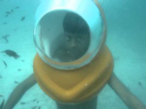 Indian Boys doing Scuba Diving