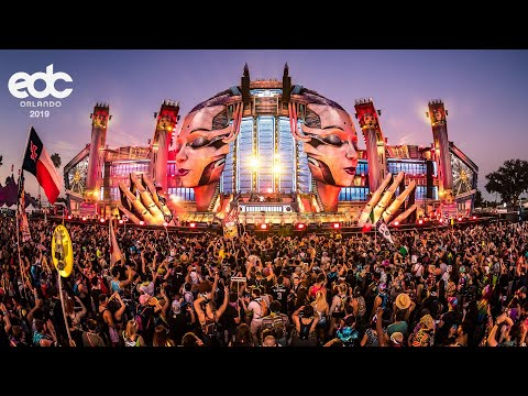 Cosmic Gate live at EDC Orlando 2019 (main stage sunset set)