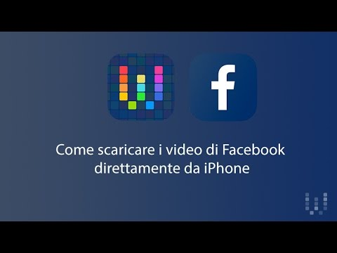 VIDEO FACEBOOK WORKFLOW SCARICA
