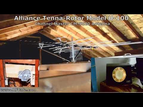 Alliance Tenna Rotor Model U 100 4 8 2018