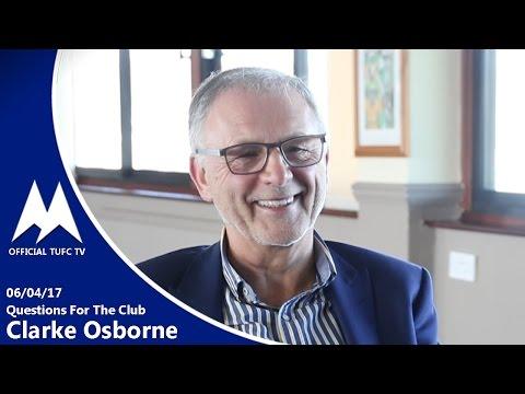 Official TUFC TV | QFTC Clarke Osborne 06/04/17