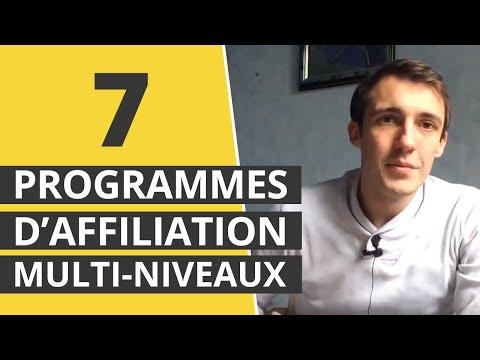 🚀 7 programmes d'affiliation multi-niveaux
