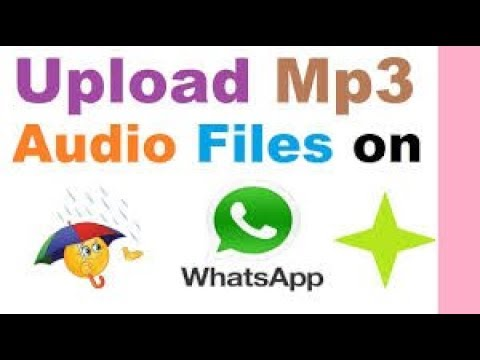 How to Share MP3 Audio files on Whatsapp [Urdu/Hindi]