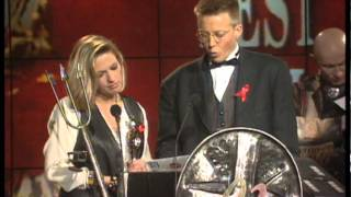 Take That Win British Single Presented By Simon Mayo & Jackie Bramble | Brit Awards 1993